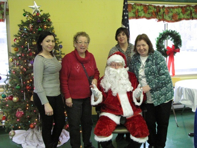 ASCF staff at Holiday brunch 2014